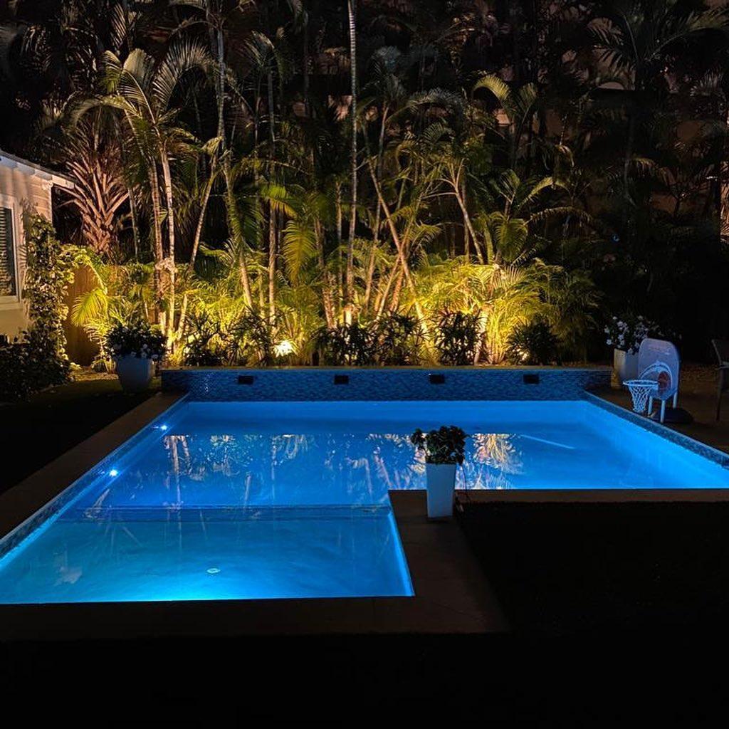 Pool lighting project
