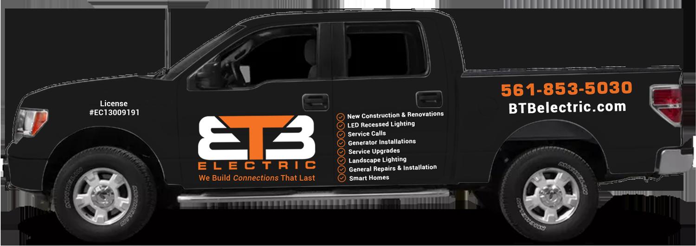 btb electric florida truck